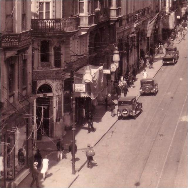 istiklal street,Beyoğlu (Pera) Istanbul,Turkey 1920's