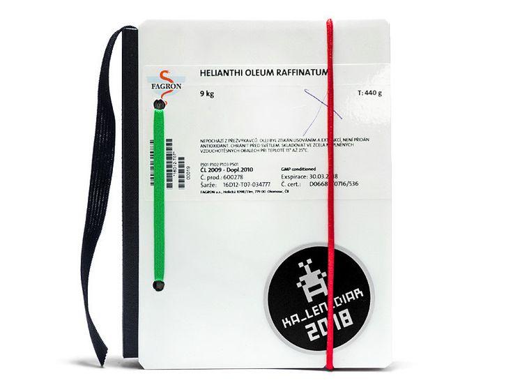 Wochenplaner - KA_LEN_DIAR / Kalender 2018 - Recycling / no.30 - ein Designerstück von lenm bei DaWanda