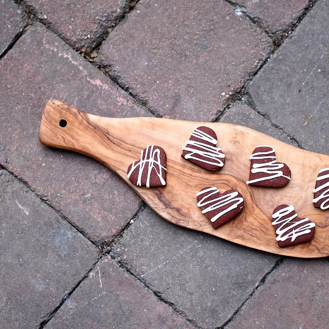 Laskominy od Maryny: Čokoládovo-kořeněná srdíčka