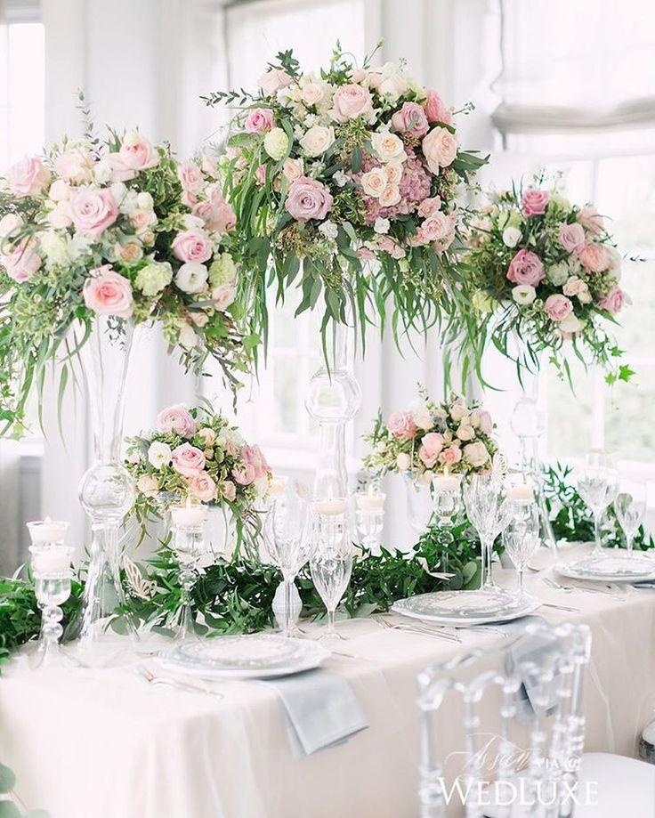 Flower Table Arrangements For Weddings: 1000+ Images About Centerpieces & Tablescapes On Pinterest
