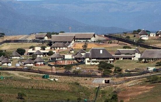 Jacob Zuma's homestead in Nkandla, KwaZulu-Natal #paybackthemoney