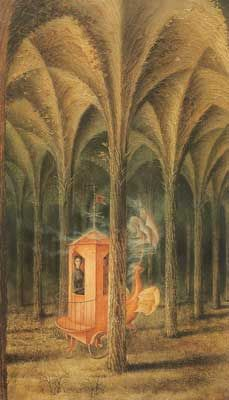 Remedios Varo,  Vegetal Cathedral Fine Art Reproduction Oil Painting