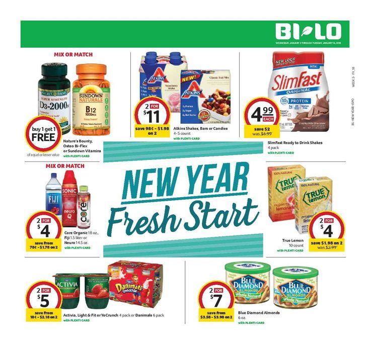 Bilo In-Store Flyer January 3 - 16, 2018 - http://www.olcatalog.com/grocery/bilo-in-store-flyer.html