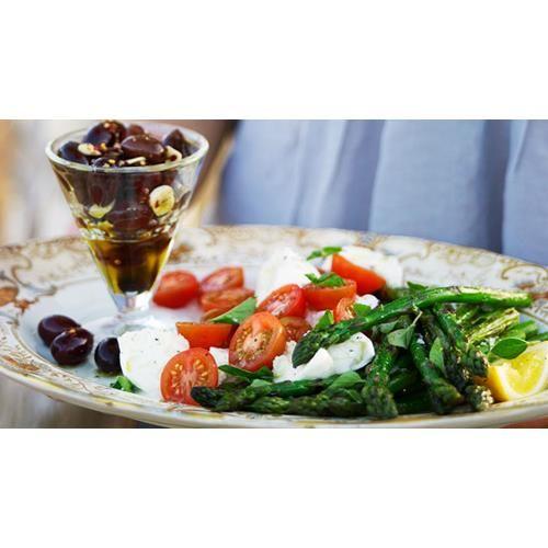 Barbecued asparagus recipe.  #Modernaustralian #Asparagus #Vegetabledish #Side #Easy
