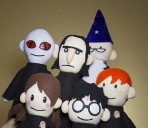 Harry Potter puppet pals- on youtube. My kids love these.