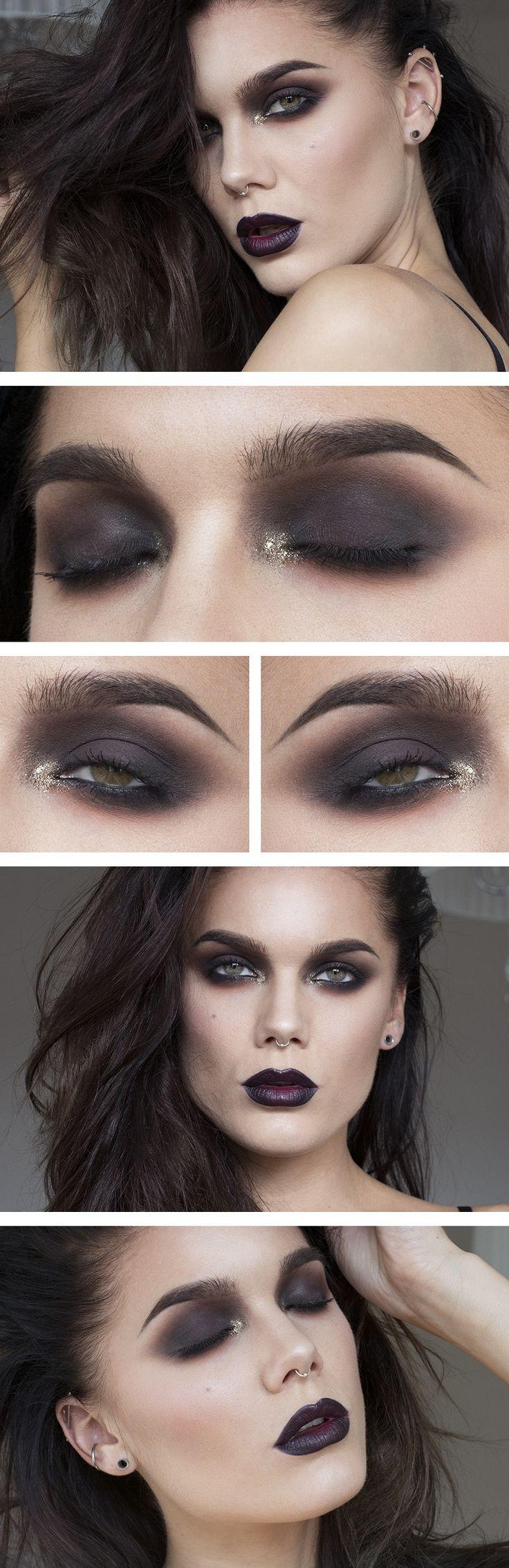 Best 25+ Vamp makeup ideas on Pinterest | Gothic eye makeup, Vampy ...