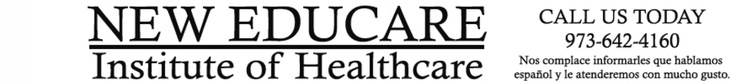 New Educare Institute of Healthcare    Approved By        NJ State Departments of Education        Labor and Workforce Development        National Healthcareer Association        Rehabilitation Healthcareer Association         Programs Offered        Clinical Medical Assistant      Patient Care Technician       Phlebotomy Technician      EKG Technician        Medical Billing and Coding      Physical Therapy Aide      Physical Therapy Technician