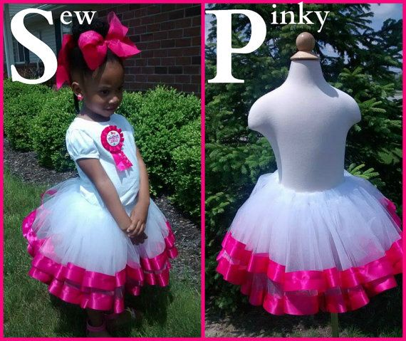 Every birthday girl needs her princess twirl tutu skirt from sew pinky!! Fluffy, cute and an instant show stopper!