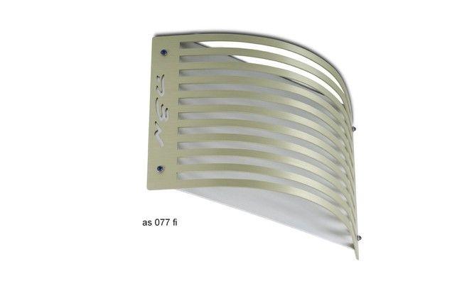 Matze Tray - Adi Sidler - Aluminium silver strips R5645