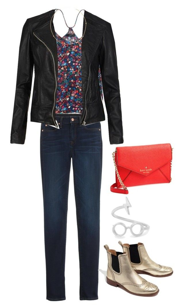👓🌟 by strawberryplums on Polyvore featuring polyvore, fashion, style, AllSaints, J.Crew, Madewell, Kate Spade, Alex and Ani and clothing