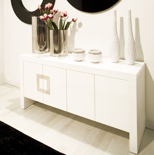 Furniture Mind   Contemporary Furniture   Modern Furniture   City  Four  Door Sideboard in White. 27 best Modern storage images on Pinterest   Contemporary