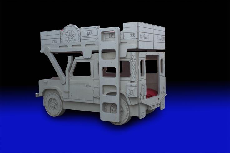 Land Rover 90 Safari Military Bunk Bed By Fun Furniture
