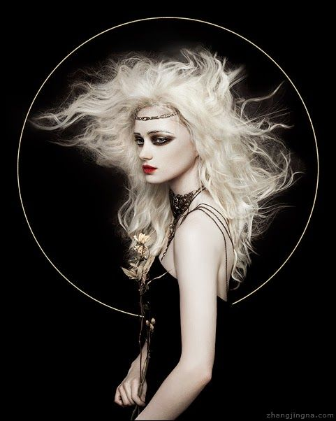 """Lily Olsen-Ecker modeling for Yoshitaka Amano inspired Motherland Chronicles #20 """"Lily II"""" photographed by Zhang Jingna aka zemotion.  Gorgeous compliment to Lyle:  http://pinterest.com/pin/337770040773862929/"""