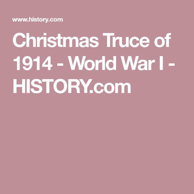 Christmas Truce of 1914 - World War I - HISTORY.com