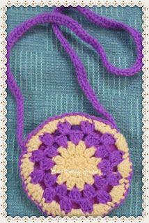 Sweet Nothings Crochet: CUTE FLORAL SLING BAG