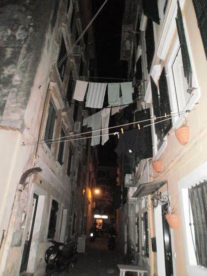 Kantouni (one of the several narrow roads at Corfu), Corfu