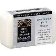 One With Nature Dead Sea Mineral Soap, Dead Sea Salt - 7 oz bar