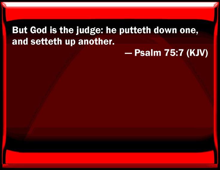 Psalm 75:7