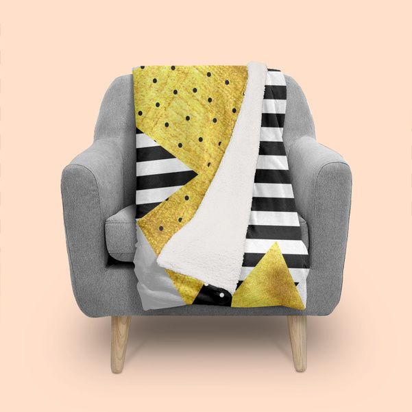 Discover «fall abstract #1», Numbered Edition Throw Blanket by susana costa - From 59€ - Curioos