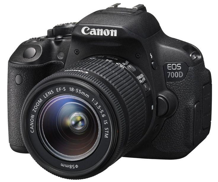"""Canon EOS 700D EF-S 18-55 DC III por 409 € siendo Prime  Consigue ahora esta fantástica cámara reflex deCámara réflex digital de 18 Mp (pantalla 3"""", estabilizador), color negro - kit con objetivo EF-S 18-55mm f/3.5 IS STM   #Camara #cámara reflex #canon"""