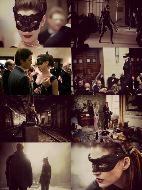 Selina Kyle Collage - Dark Knight Rises
