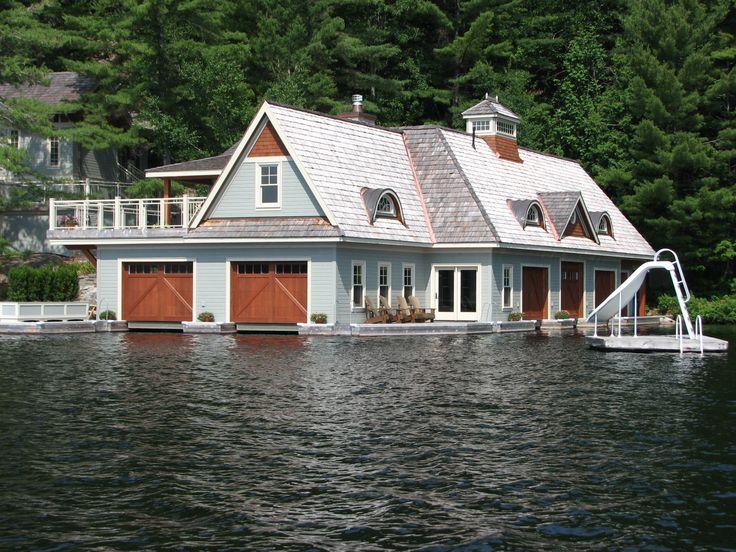 Best 25+ Boathouse ideas on Pinterest | Boat house, Lake ...