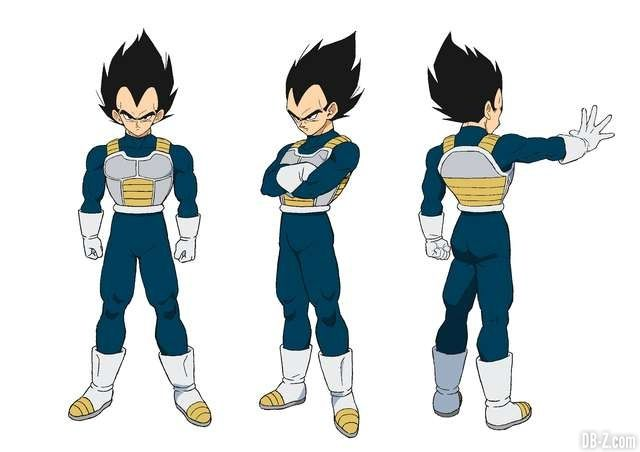 Vegeta Film Dragon Ball Super Broly Balle De Dragon