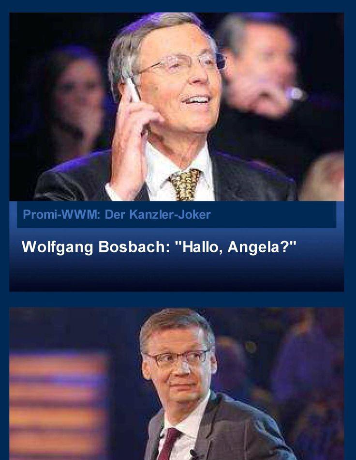#Kanzler-#Joker ;-D Wolfgang #Bosbach quasselte sich in die Herzen der TV-Nation. http://www.rtl.de/cms/sendungen/wer-wird-millionaer/wwm-specials/promi-wwm-bosbach-hat-den-hoechsten-deutschen-telefon-joker-3bff7-c3a3-34-1927479.html lol, #German #Chancellor Dr. #Merkel (CDU) as #Telefonjoker of #Bosbach (CDU), the #best #WhoWantsToBeAMillionaire ever! lolll http://www.bild.de/politik/inland/wolfgang-bosbach/nach-jauch-auftritt-und-merkel-telefonat-wer-ist-wolfgang-bosbach-36238366.bild.html