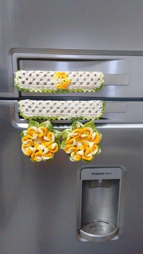 Puxador de geladeira