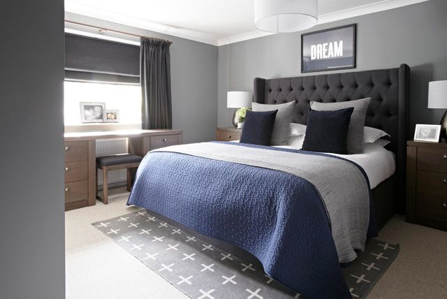 "Ignore the lame ""Dream"" sign this is a cool colour combo for your bedroom"