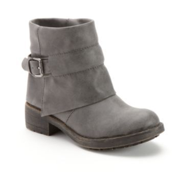 Unleashed by Rocket Dog Torino Cuffed Ankle Boots - Women ...
