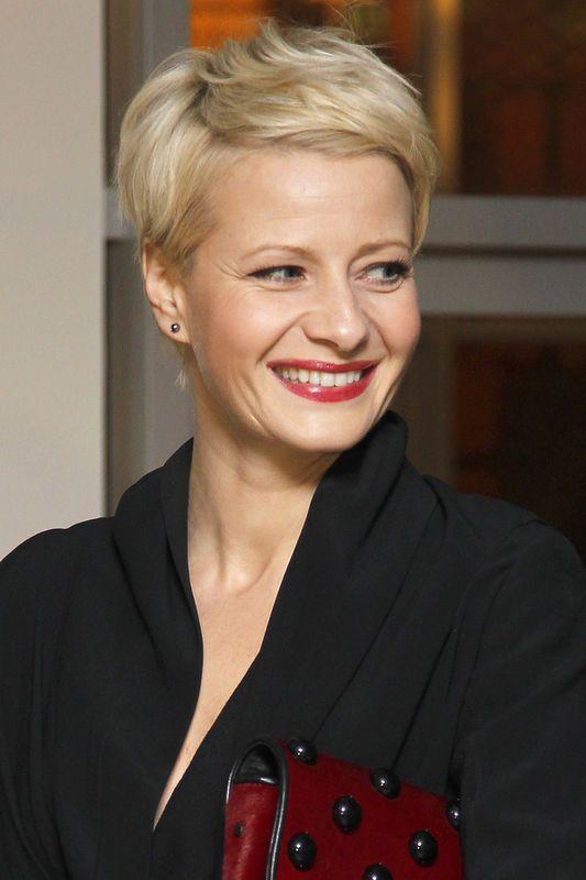 Fryzury i makijaż gwiazd: Małgorzata Kożuchowska