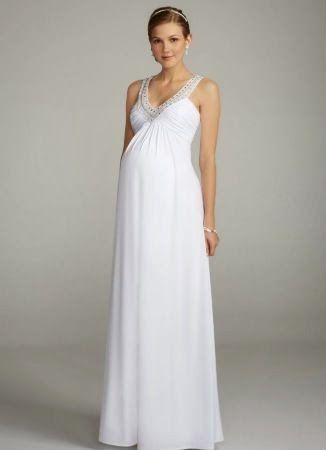 Grandiosos vestidos de novias | Moda para embarazadas