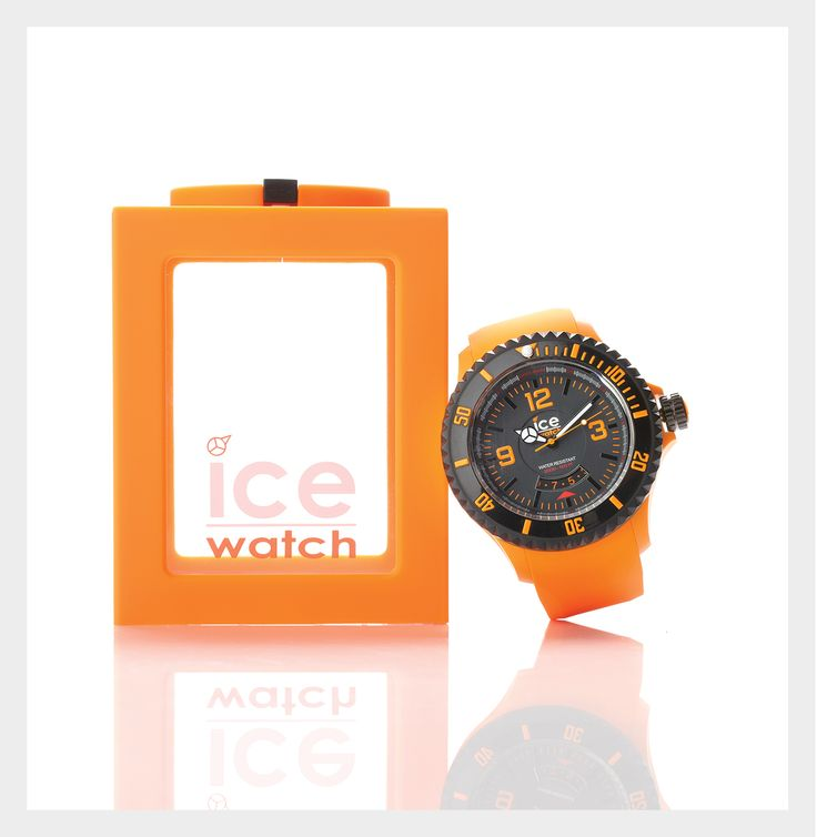 Latest release Ice-Surf from swiss-made Ice Watch. Water resistant to 20 ATM (200M) for professional marine activity, serious surface water sports and skin diving. $399 from Fifth Avenue Diamond Jewellers at Shore City