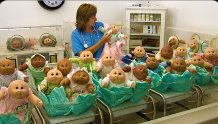 At The Cabbage Patch Doll Hospital Cabbage Patch World