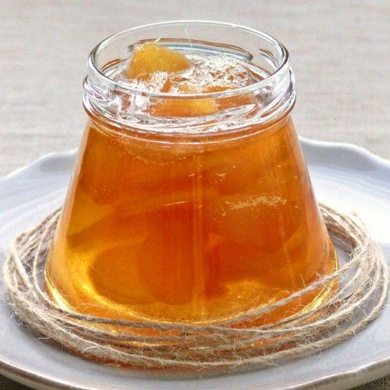 Ostry i moooooocno rozgrzewający imbir do herbaty.