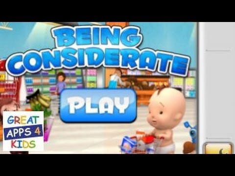 Being Considerate | Free Learn How to Be Considerate Game App for Kids