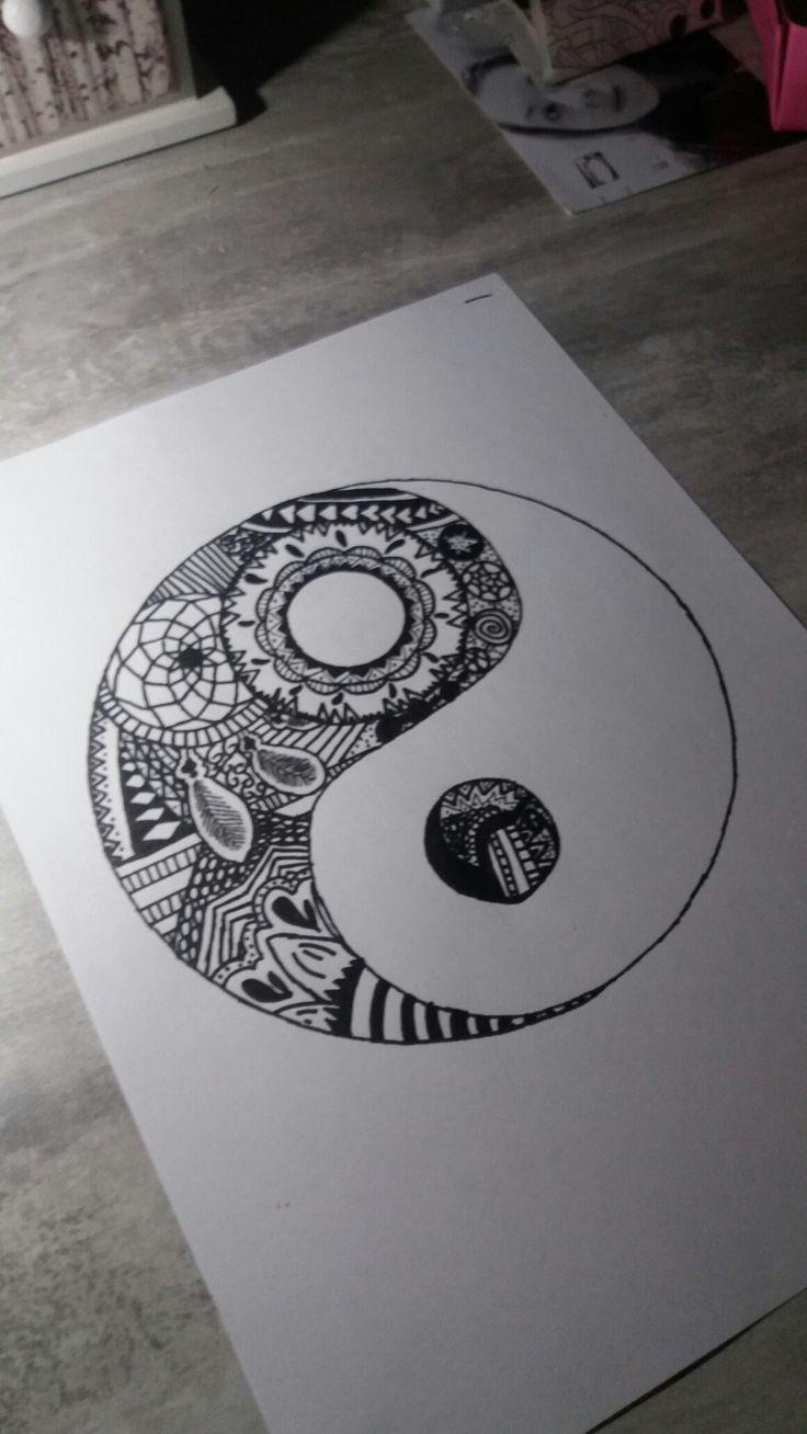 Ying et yang ... tout un art