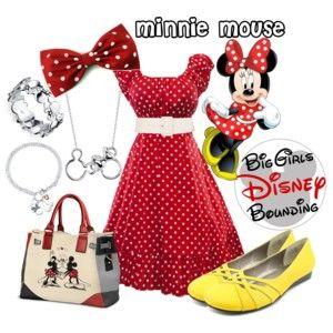 Minnie Mouse Plus Size Disney Bounding