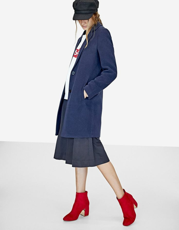 El calzado de moda para el otoño 2017: las botas rojas