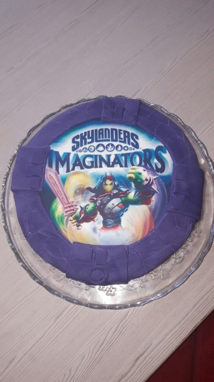 Skylanders imaginators portal birthday cake