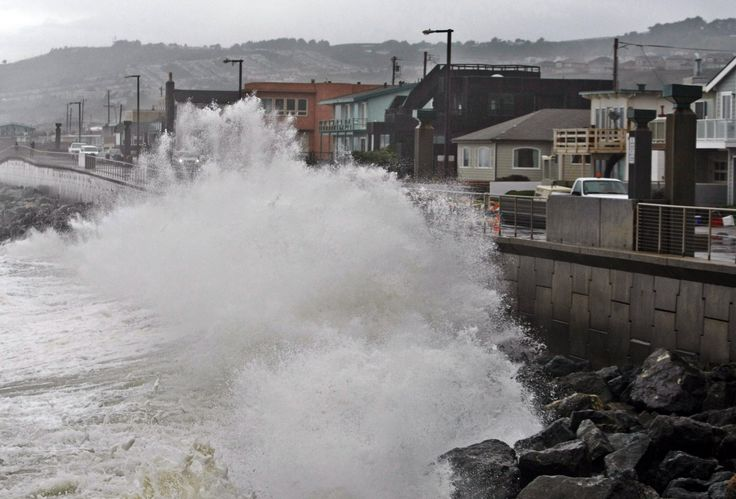 Two California counties and one town are suing fossil fuel companies for damages related to sea level rise.