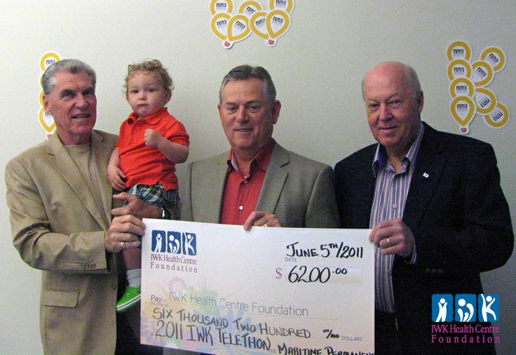 2011 - Maritime Permanent Roofing Ltd. makes a donation to the IWK Health Care Foundation.