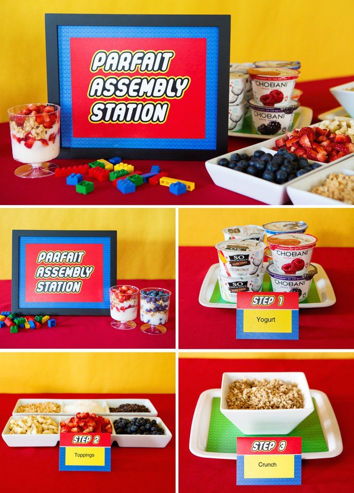 Classroom Potluck Ideas : This lego themed teacher appreciation party will inspire