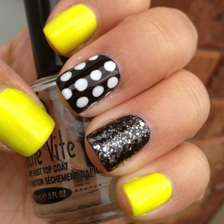 15 Neon Nail Design Ideas - Always in Trend | Always in Trend