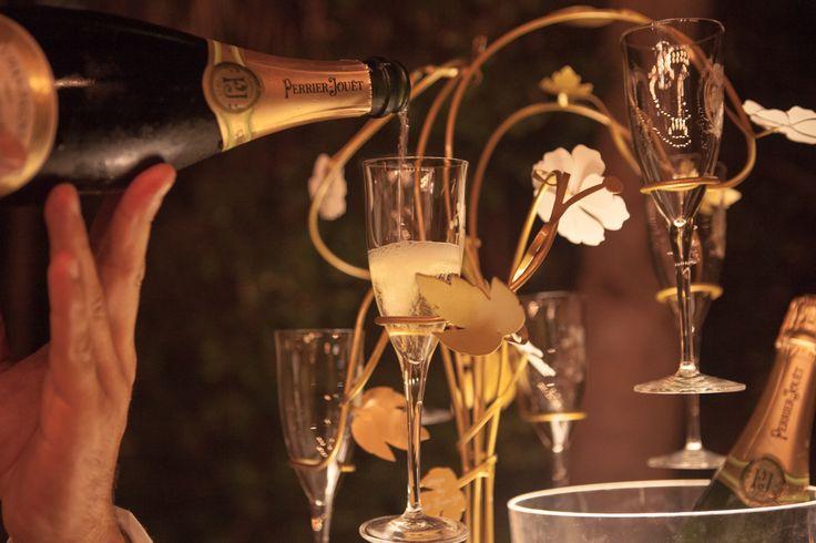 Refined and modern creation for Perrier-Jouët tasting #perrierjouet #designmiami #enchantingtree Please Drink Responsibly
