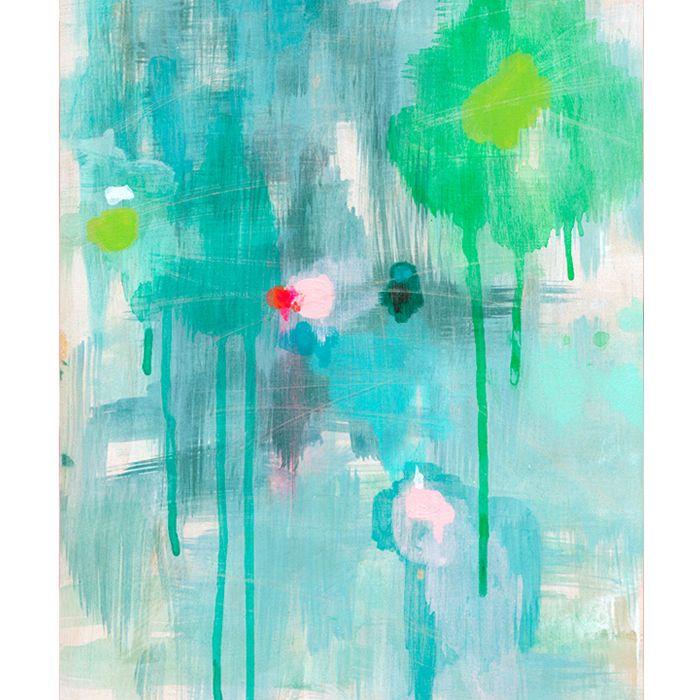 """Belinda Marshalln""""Balance"""" Art Tea Towel $40   Frankie and Swiss"""