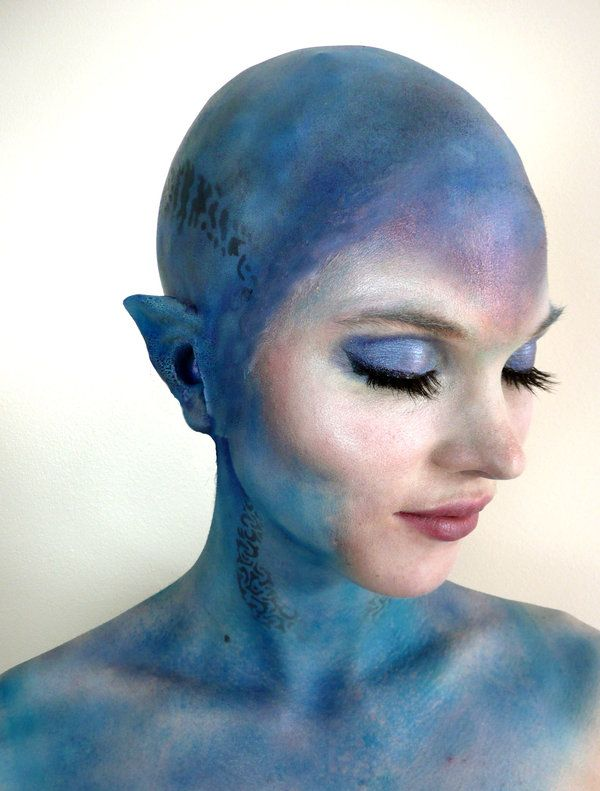 Alien Bald Cap Test by ~AnneDuncan on deviantART