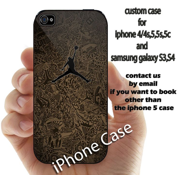 air jordan nike logo for iphone 4 4s 5 5s 5c 6 and samsung galaxy S3 S4 S5 case #UnbrandedGeneric