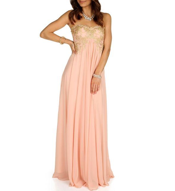 Rosie- Pink Prom Dress